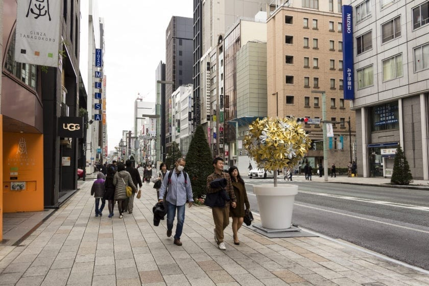 Ginza in Tokyo
