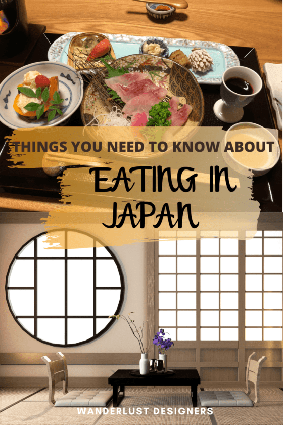 Japanese dining etiquette   Everything you need to know about eating out in Japan - Japanese food etiquette, Japanese restaurant tips, taboos in Japan, restaurant manners, and more!   #japan #japantips #traveltips #japanfood #sushi   how to eat sushi correctly   tips for using chopsticks   saying thank you for the food in Japanese