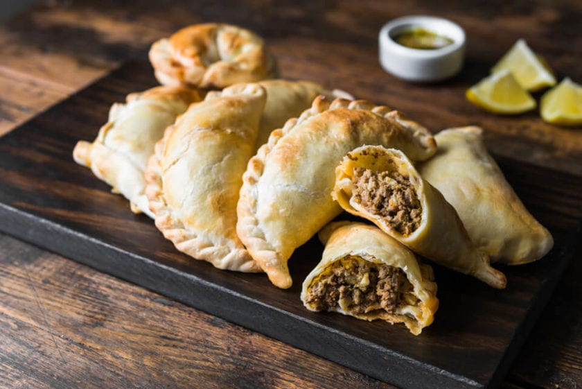 Empanadads - perfect for hiking