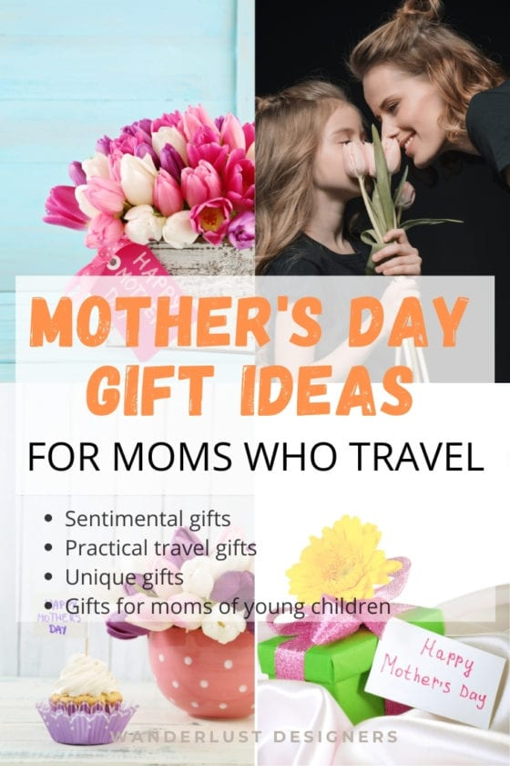 Mother's day gift ideas   21 best gifts for moms who love to travel. Sentimental mother's day gifts, practical travel gifts, unique gifts for moms who travel, plus best gifts for moms of young kids! There's definitely the perfect gift for your mom in this list of gifts for moms who travel!   #mothersday #gifts #travelgifts #giftideas #travel   Mom's day travel gifts   travel gifts for mom   what to gift my mom