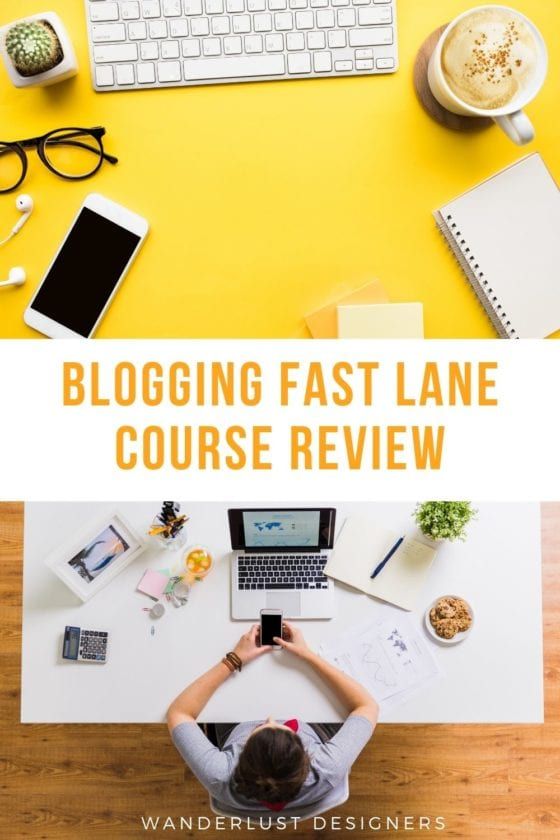 Blogging Fast Lane course review | Is the Blogging Fast Lane course right for you? Read our review and find out! From how much the course costs, to what the Blogging Fast Lane modules look like, to everything else you need to know!