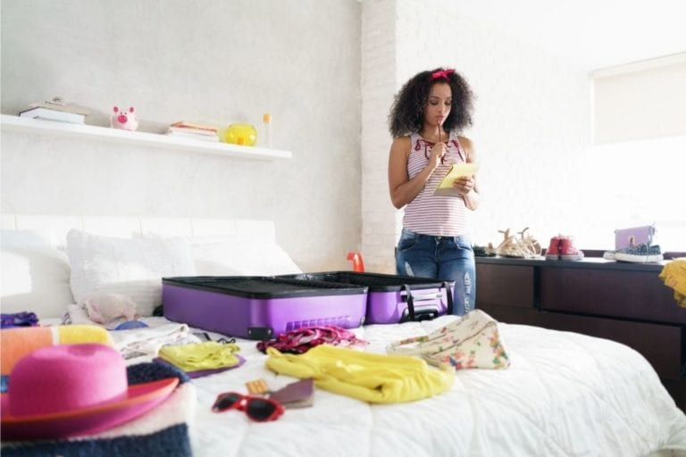 Essential things to pack for travelling - image by Diego Cervo via Canva.com