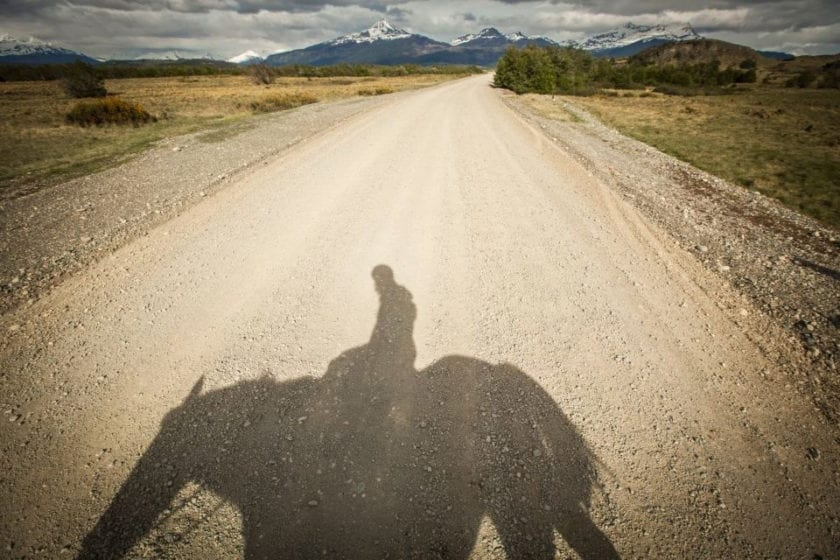 Horseriding in Torres del Paine by Christian Declercq