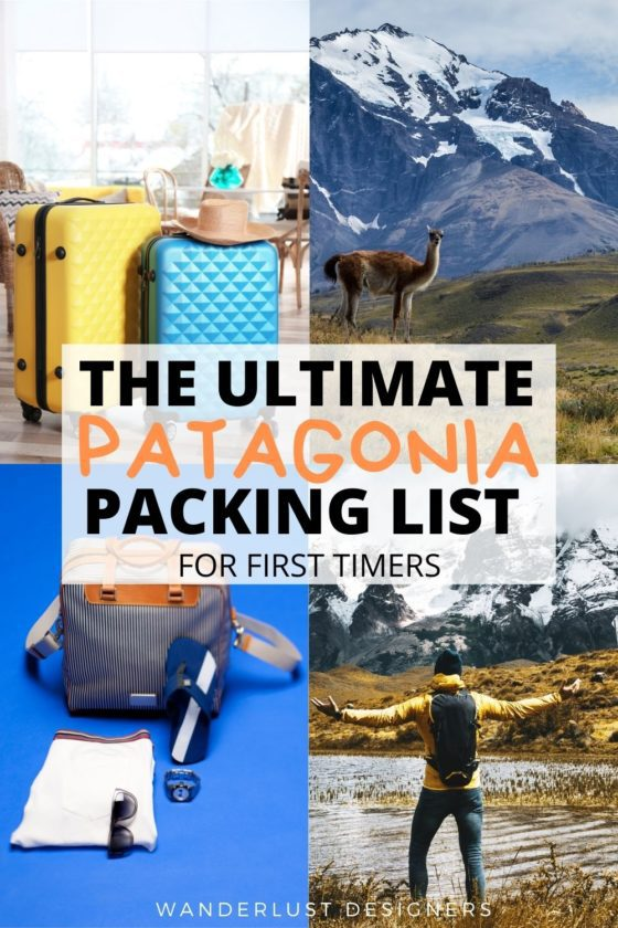 Patagonia packing list | a complete packing list for Patagonia with the items you should definitely have in your suitcase for the trip. Explore what to wear to Patagonia, what to pack for Patagonia and what to bring for hiking in Patagonia, as well as just exploring. | #patagonia #torresdelpaine #losglaciares #chile #argentina #packinglist | packing for Patagonia | packing list Patagonia | packing for Patagonia summer