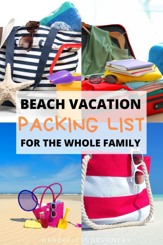 Family beach vacation packing list   What to pack for a family vacation to a beach when you have young kids? Well, here is a no-frills packing list that can be used even for plane travel! No need to stress about packing for a beach vacation anymore!   beach packing list   family beach vacation   beach vacation with toddlers   #beach #beachvacation #packinglist #packingguide