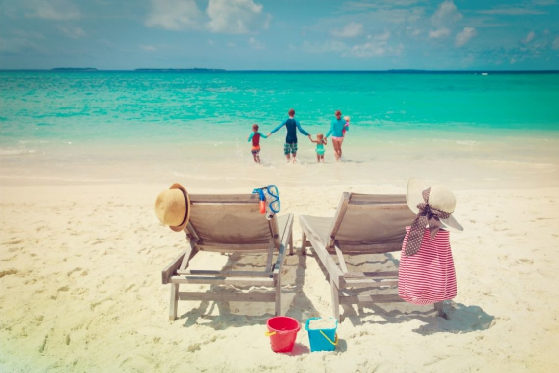 family beach vacation packing list by Nadezhda1906 from canva