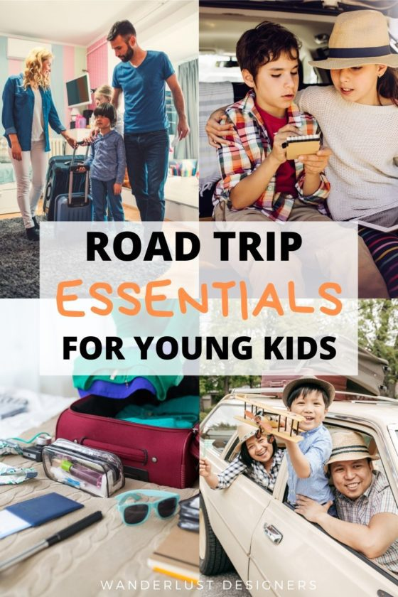 Road trip with kids essentials   Planning a road trip with kids? Find out what to pack for a road trip with kids, what to do, and what you should know before going on a family road trip   planning a road trip with kids hacks   family road trip advice   #roadtrip #familytravel #packinglist #hacks