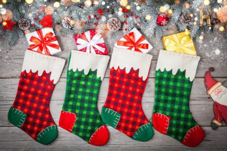 Travel stocking stuffers for christmas by bvb1981 from canva com